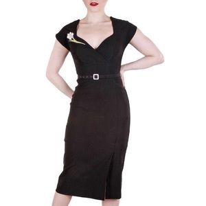Stop Staring! Black Paris Milan Wiggle Dress
